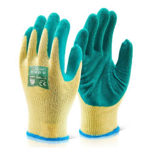 Click Multi Purpose Green Grip Gloves - 100 Pairs